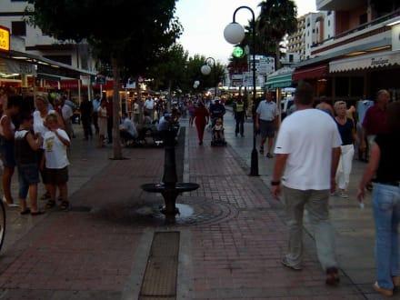 Cala Millors Fußgängerzone - Fußgängerzone