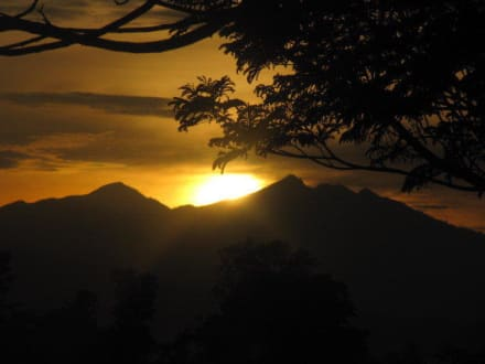 Sonnenuntergang - Westküste Lombok