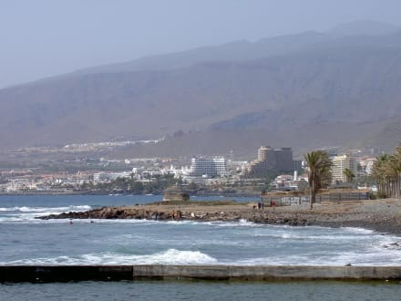 Promenade Playa de las Americas - Strand Playa de las Americas