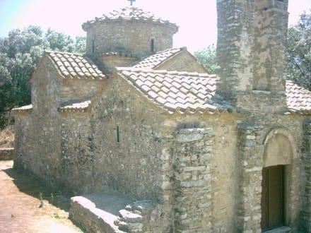 Byzantinische Kirche in  der Nähe von Chalkio - Hinterland von Naxos