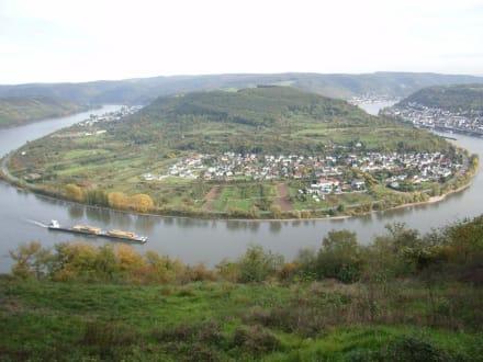 Rheinschleife bei Boppard - Vierseenblick