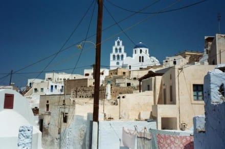 Santorin - Pyrgos - Altstadt Pyrgos