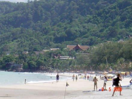 Strand von Patong - Strand Patong Beach