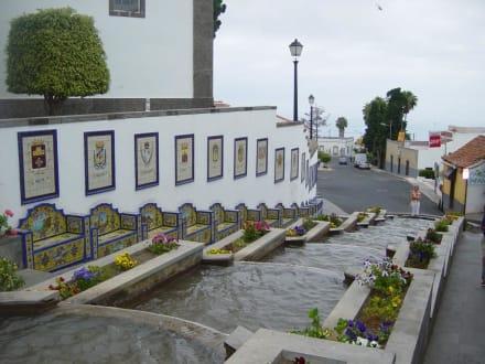 Die Wassertreppe von Firgas (da kommt auch das Mineralwasser - Paseo de Gran Canaria