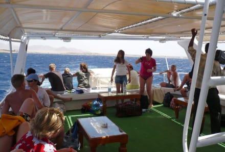 Auf dem Schiff - Schnorcheln Sharm el Sheikh
