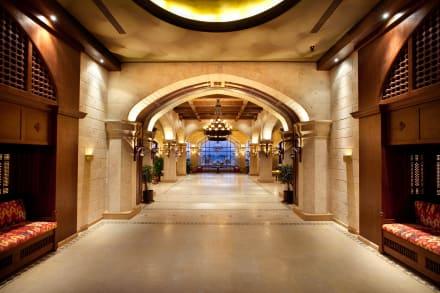The main entrance -