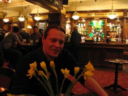 Innen im Pub - The Quadrant