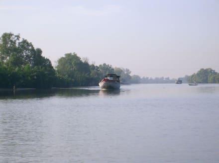 die Fahrt im Mekong Fluss - Mekong Delta