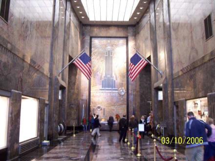 EIngangsbereich des Empire - Empire State Building