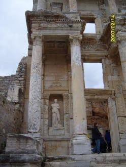 Detail Celsus Bibliothek! - Antikes Ephesus
