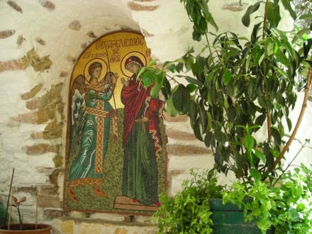 Klostergelände - Kloster Paleokastritsa