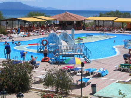 Pool area -