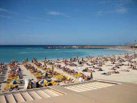 Strand bei Puerto Rico - Playa del La Verga / Anfi del Mar