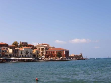 Venzianisches Gefühl in Griechenland - Hafen Chania