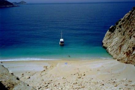 Kalkan / Türkei - Strand Kalkan