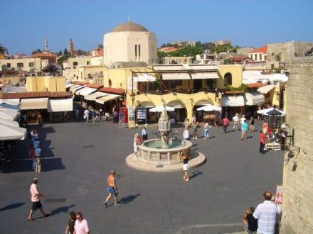 Rhodos Stadt - Hippokrates Platz