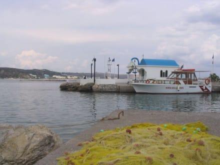 Der kleine Hafen von Faliraki - Fischereihafen Faliraki