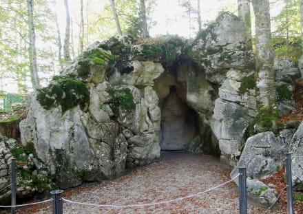 Eingang Venusgrotte Bild Schloss Linderhof In Ettal
