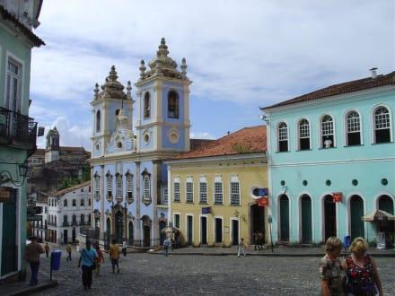 Altstadt von Salvador da Bahia - Kirche Nossa Senhora do Rosário dos Pretos