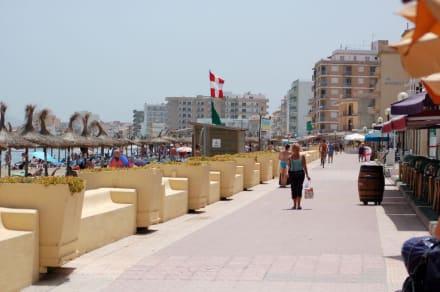 Die Promenade - Strand Can Picafort