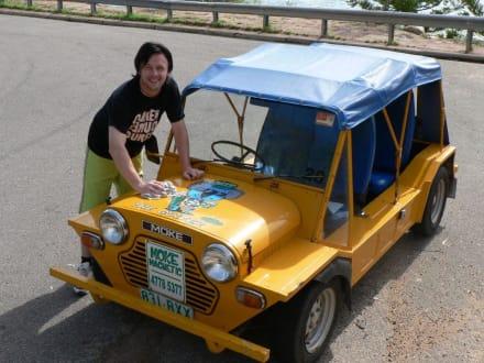 Moke-Mietwagen auf Magnetic Island - Moke-Magnetic
