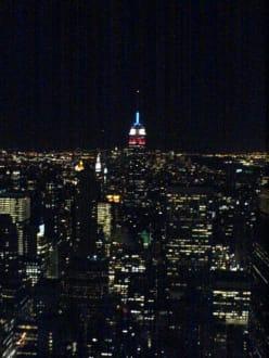 Häusermeer bei Nacht - Rockefeller Center