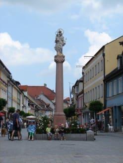 Säule in Murnau - Altstadt Murnau am Staffelsee
