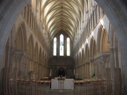 Kathedrale, Blick ins Innere - Wells