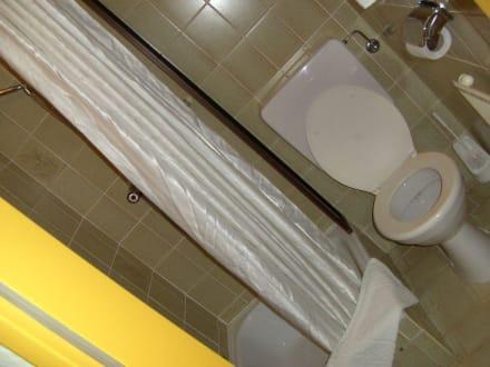 Badezimmer - Landidyll Turmhotel