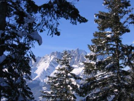 Wilder Kaiser im Schnee - Wilder Kaiser