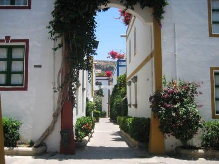 Malerische Gasse - Altstadt Puerto de Mogán