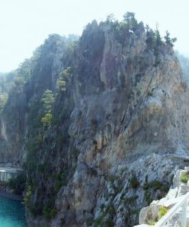 Auf dem Manavgat Stausee, Green Canyon - Oymapinar Baraji/ Stausee Green Lake & Green Canyon