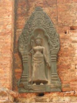Apsara - Tempel Lolei