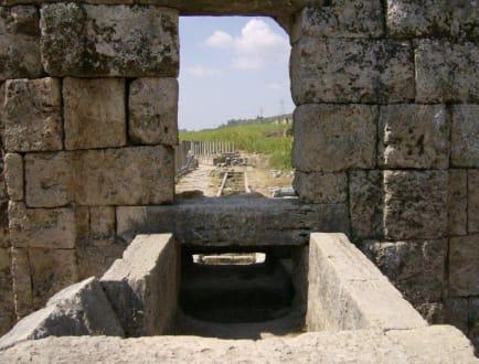ehemaliger Wasserkanal - Antike Stadt Perge