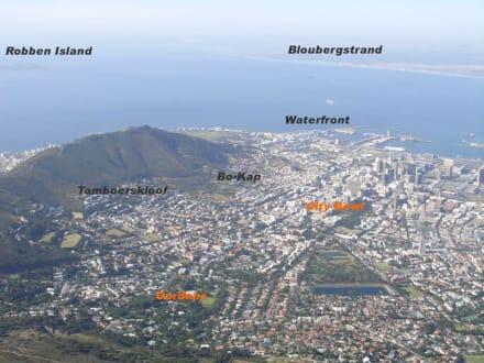 Aussicht auf Kapstadt - Tafelberg
