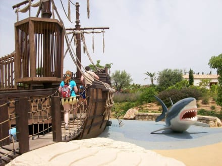 Piratenspielplatz im Aquarium in Palma - Palma Aquarium