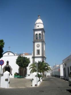 Arrecifes Pfarrkirche San Ginés - Kirche San Ginés
