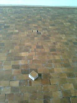 Stolperfalle - Fußboden lößt sich auf - IFA Schöneck Hotel & Ferienpark