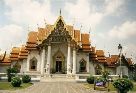 Marmortempel - Wat Benchamabopit Marmortempel