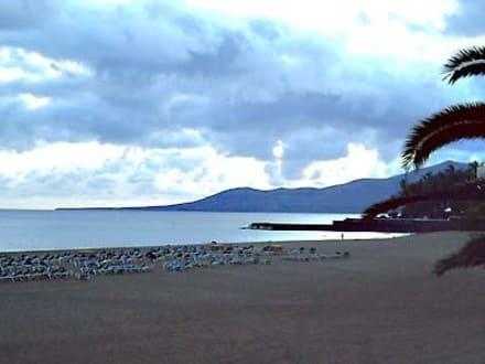 Abend am Strand - Playa Grande