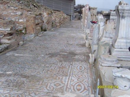 Der Weg aus Mosaik, schön! - Antikes Ephesus