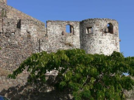 Teil der Burg - Burg von Molivos