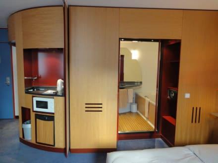 Unser Zimmer - Accor Suite Novotel Hannover City