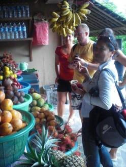 Lecker Früchte! - Guide Johanna Nusa Dua