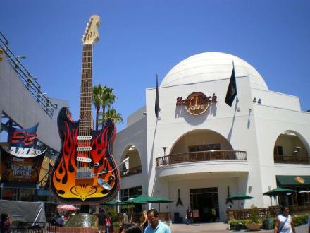 hard rock cafe auf dem city walk in hollywood - Hard Rock Cafe