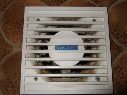 Ventilator in Dusche/WC - Berghotel Sparenmoos