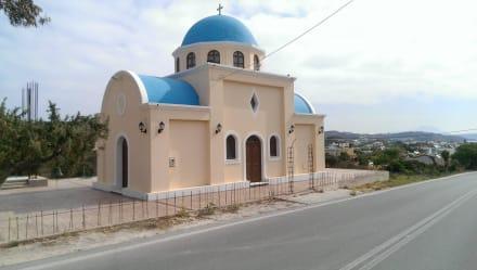 Kleine wunderschöne Kirche - Inselrundfahrt
