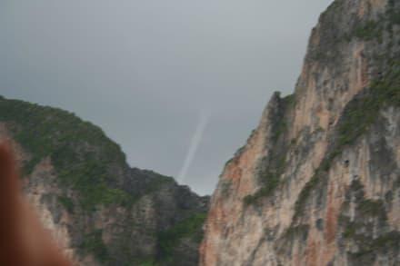 littel tornado über phi phi - Khao Phra Thaeo Nationalpark