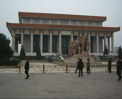 Das Mausoleum - Mao Zedong Mausoleum