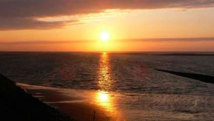 Sonnenuntergang auf Baltrum - Strand Baltrum